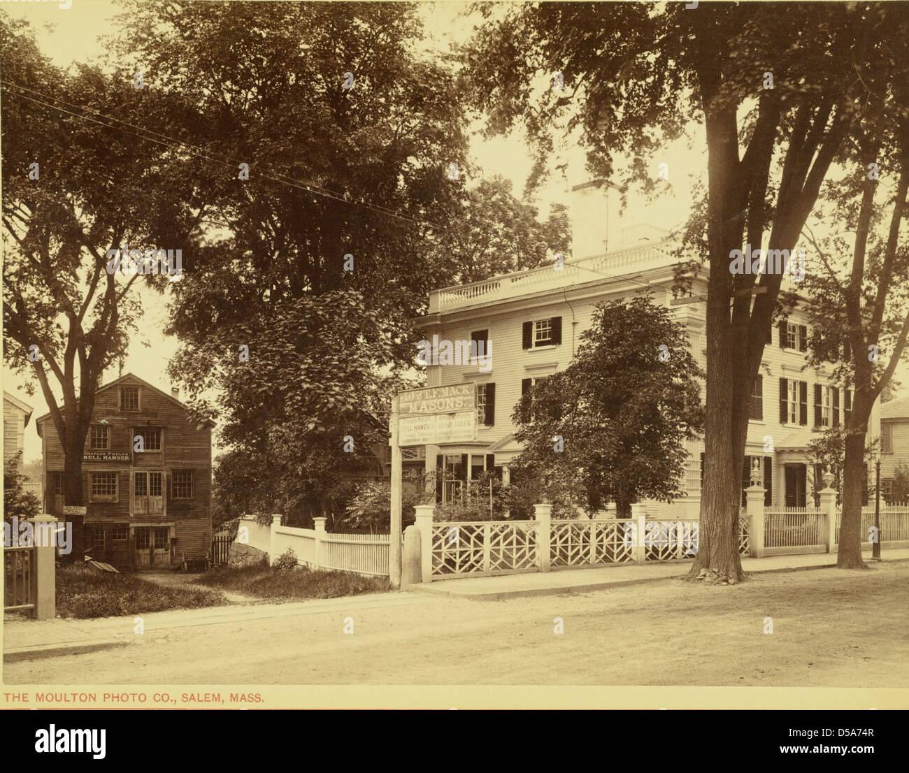 Nichols House, 80 Federal Street, Salem Stock Photo