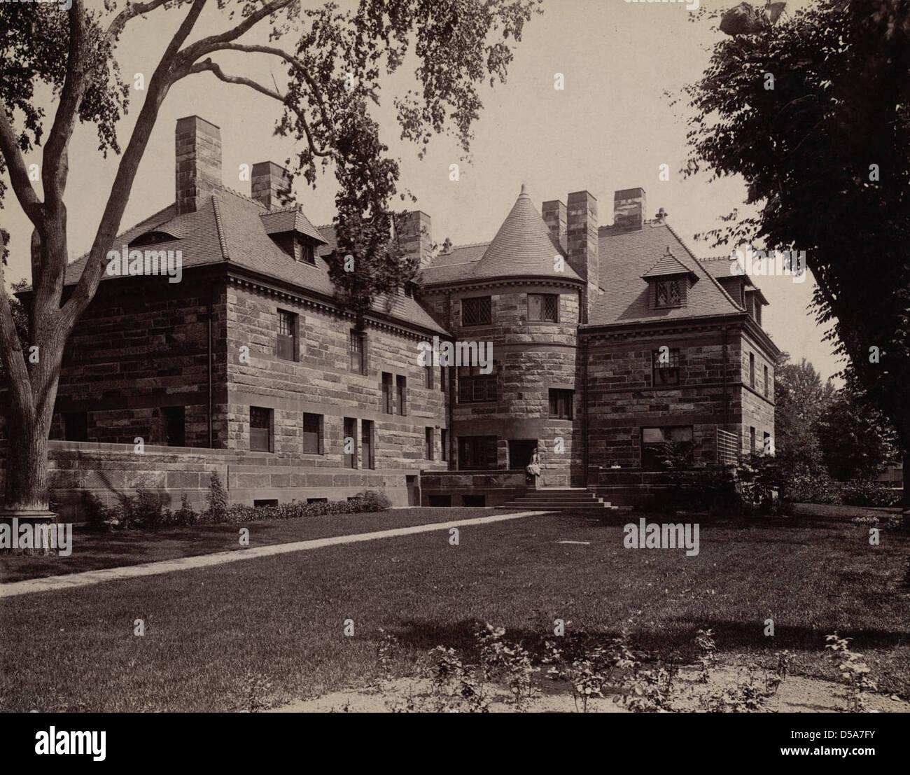 Edwin H. Abbot House Stock Photo