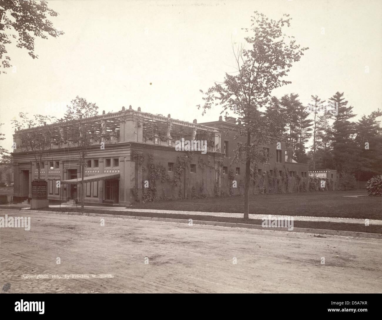 The Pompeia at Saratoga Springs Stock Photo