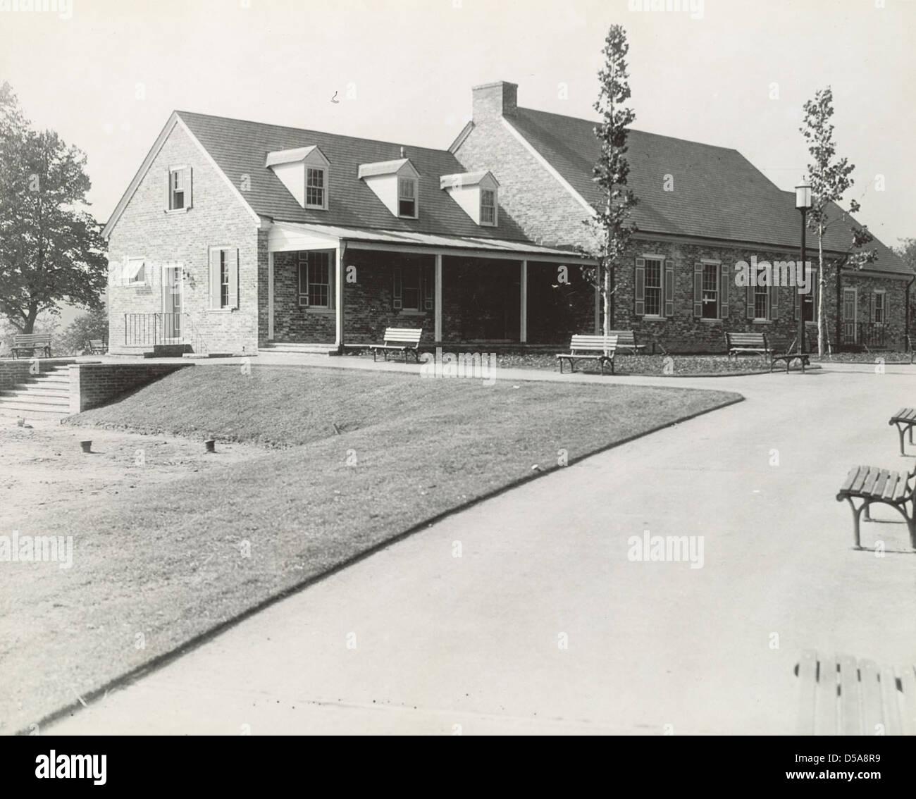 Park House, Georgetown, Washington, D. C. Stock Photo