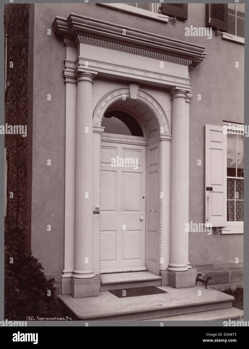 Residence, Germantown Stock Photo