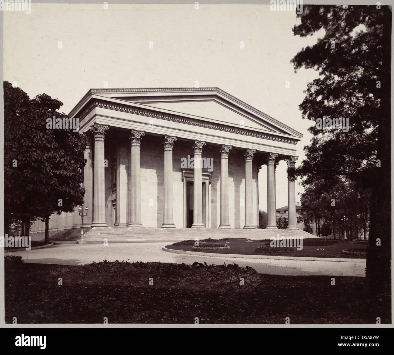 Founders' Hall, Girard College Stock Photo