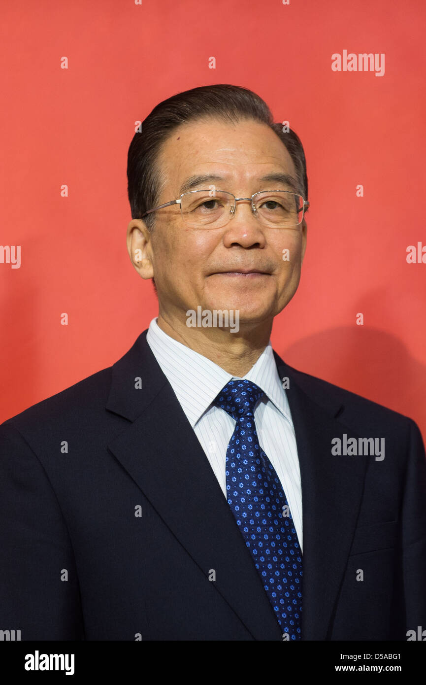 Hannover, Germany, Wen Jiabao, Premier of the People's Republic of China at  the