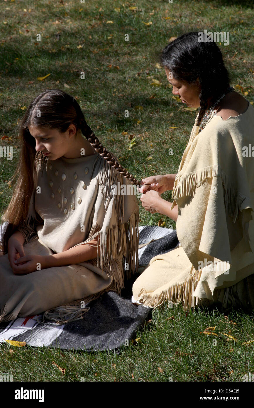 Accept. The Very young native american girl