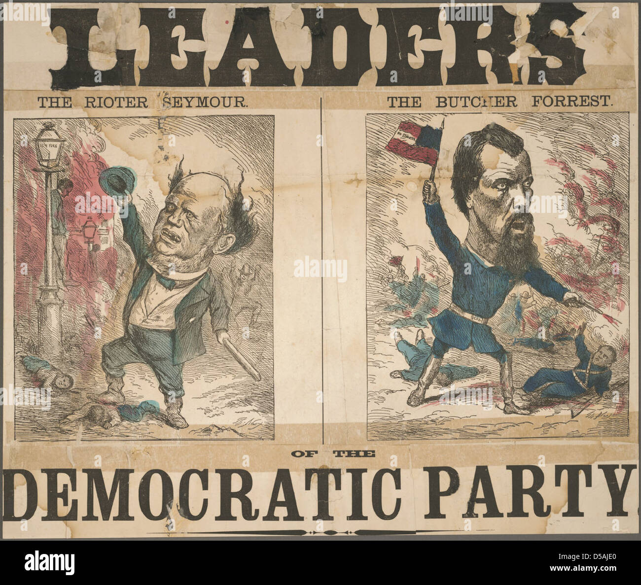 Leaders of the Democratic Party - Stock Image