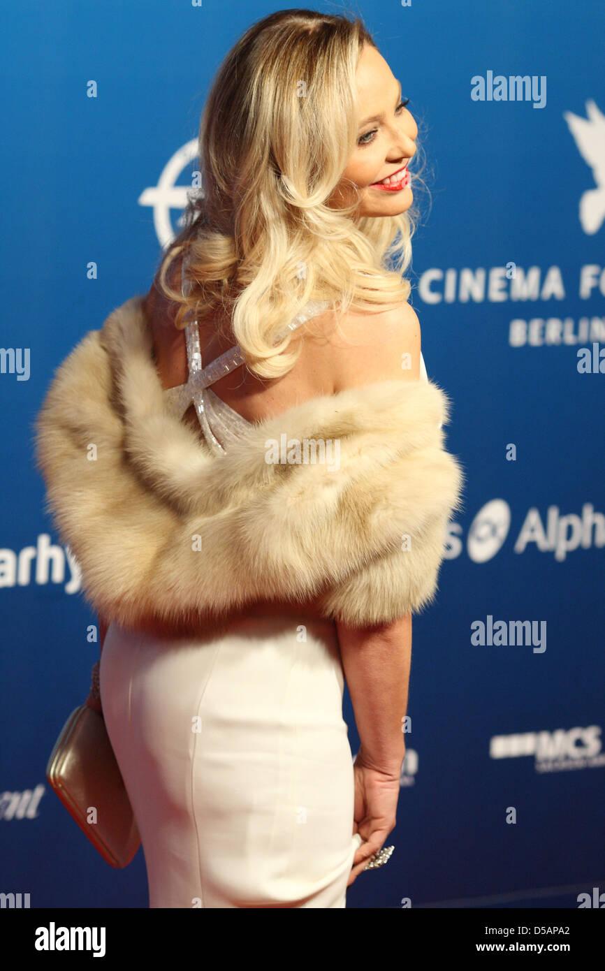 Berlin, Germany, Ornella Muti, Actress Stock Photo