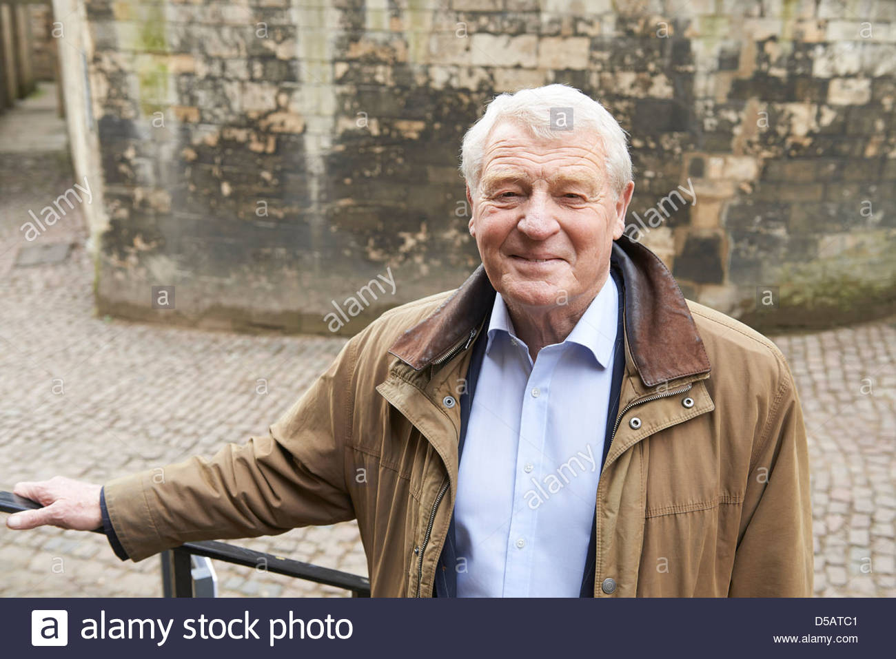 Paddy Ashdown former leader The Liberal Democrats Christchurch College Oxford Literary Festival Oxford Culture Arts - Stock Image