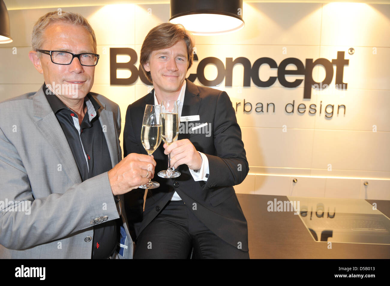 Boconcept München the picture features viggo molholm l president and chief
