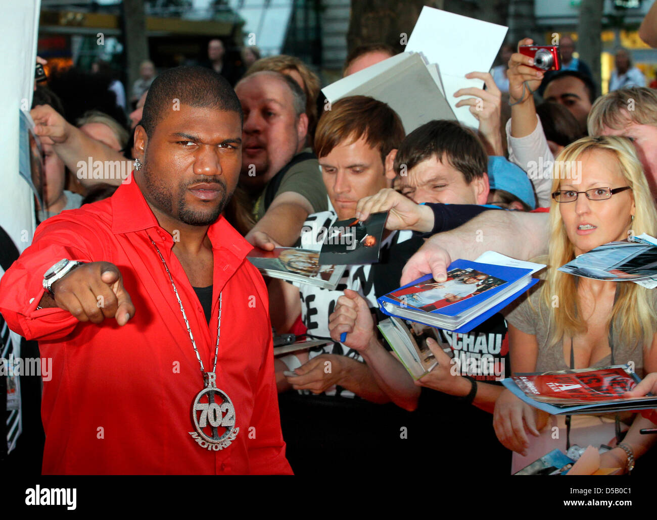 Us Actor Quinton Rampage Jackson Poses On The Red Carpet At A Preview Stock Photo 54946193 Alamy