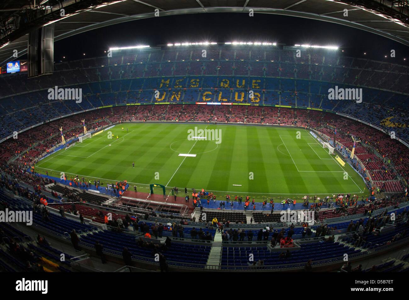 Barcelona, Spain, FC Barcelona vs Real Madrid at the Camp Nou stadium - Stock Image