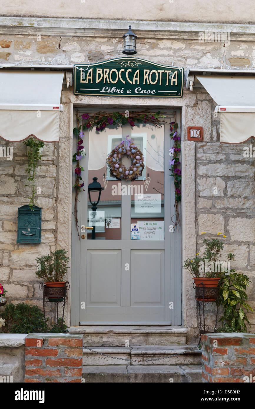 La Brocca Rotta.Vintage Library Shop La Brocca Rotta At Grado Friuli