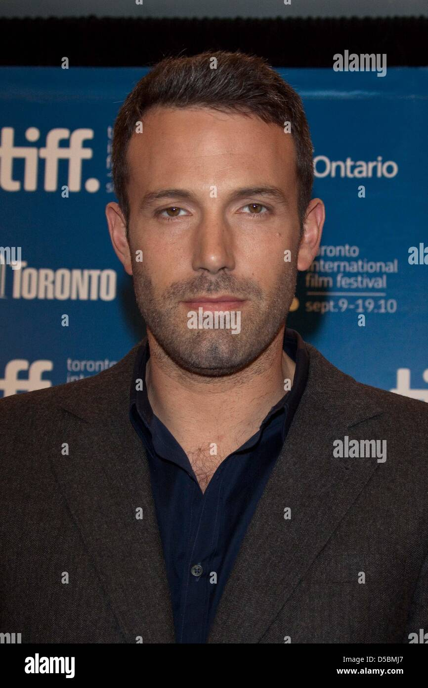 Director Ben Affleck attends the press conference of 'The Town' during the Toronto International Film Festival - Stock Image