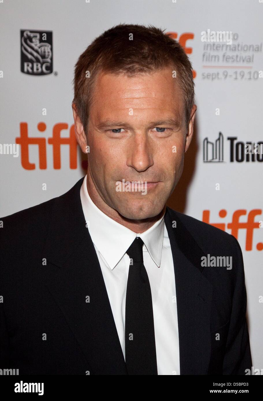 US Actor Aaron Eckhart Attends The Premiere Of Rabbit Hole During 35th Annual Film Festival In Toronto Canada 13 September 2010