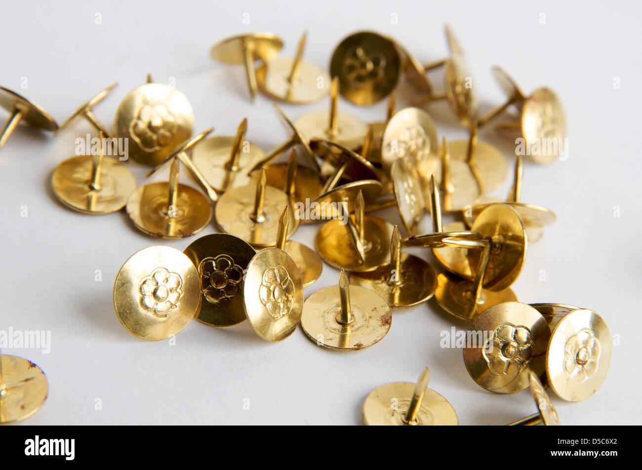 Drawing pins - Stock Image