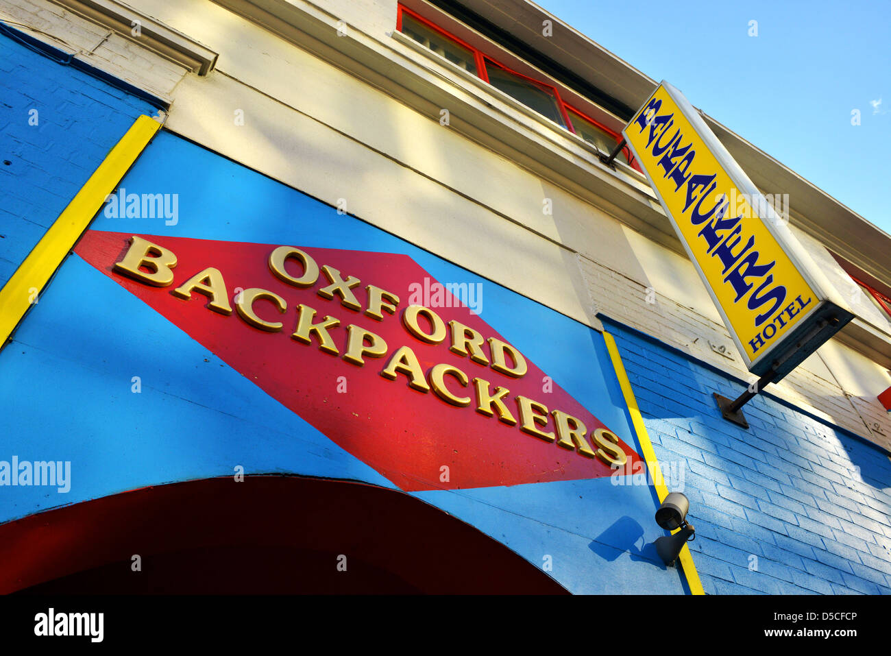 Oxford Backpackers hostel, City of Oxford, Britain, UK - Stock Image