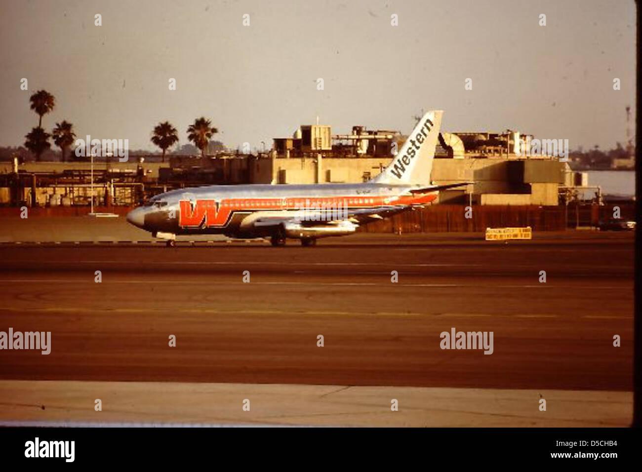 Boeing 737 EI-BRB Stock Photo