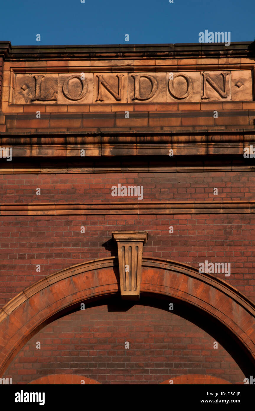 London sign - Stock Image