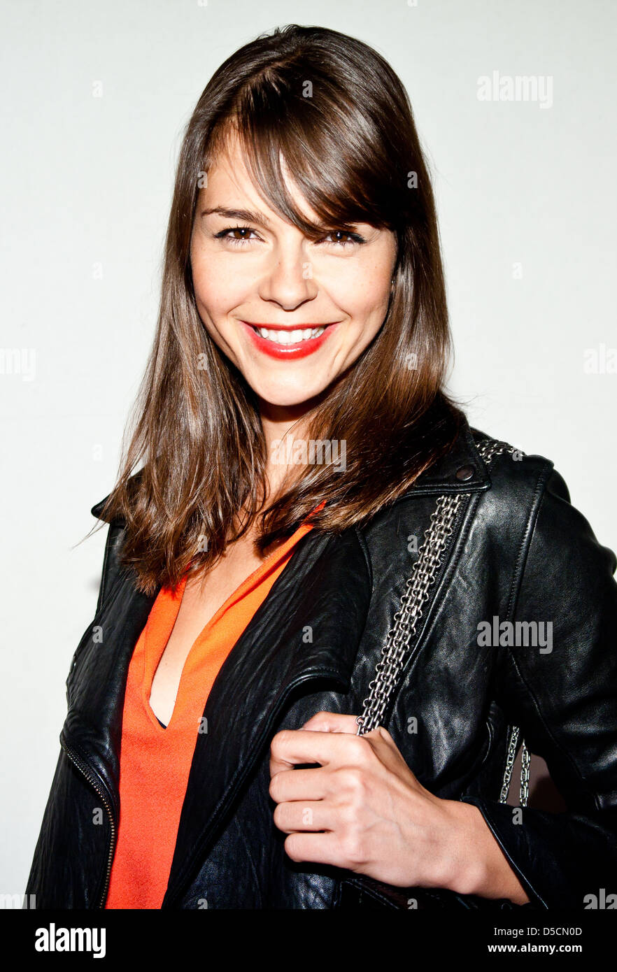 Susan Hoecke at the launch of Filmfest Hamburg with the premiere of 'Auf Wiedersehen' at CinemaxX movie - Stock Image