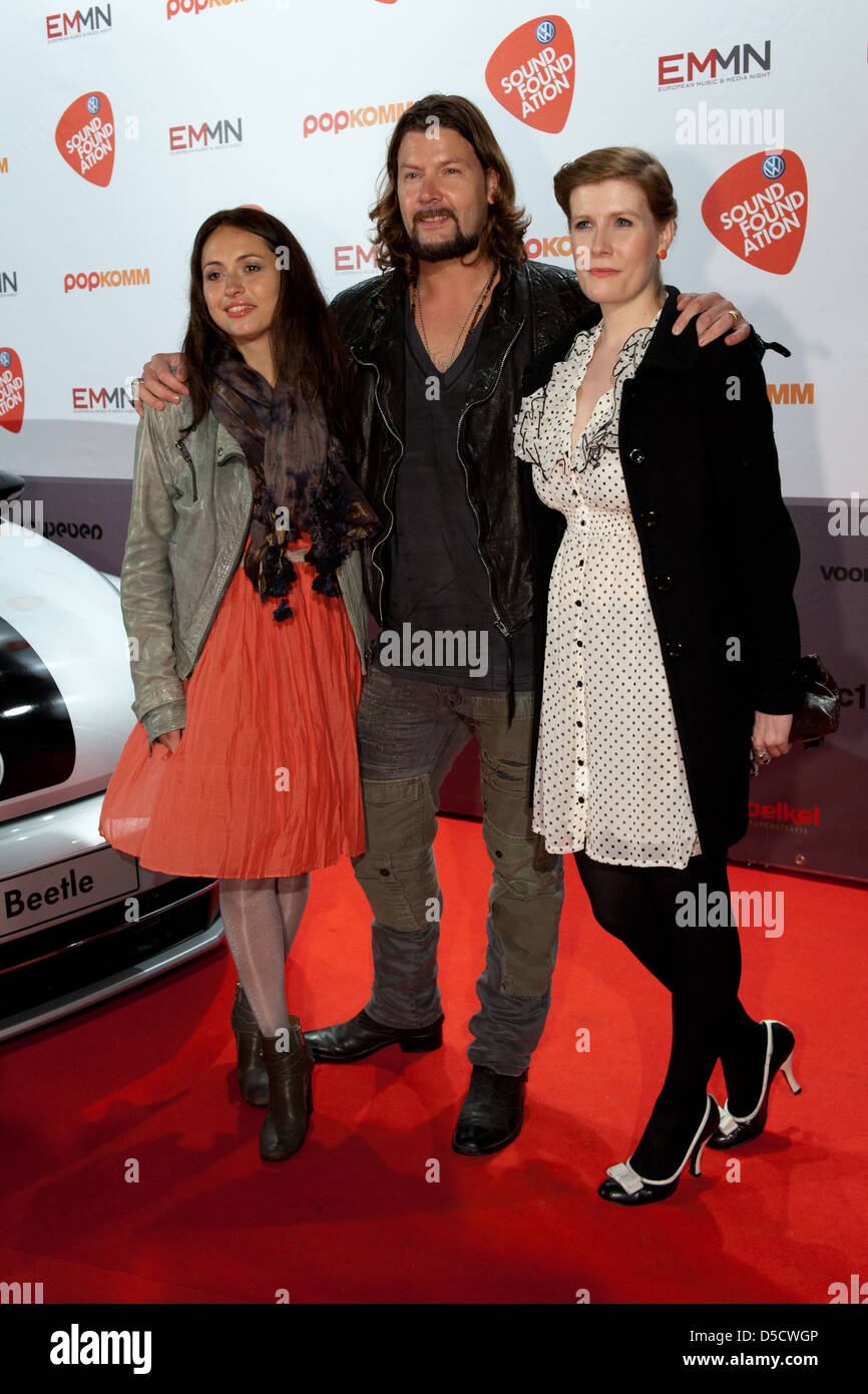 Rea Garvey And His Wife Josephine Garvey And His Sister At European Stock Photo Alamy