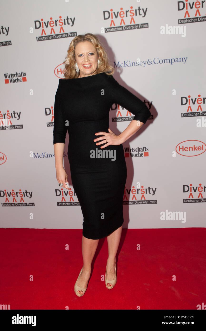 Barbara Schoeneberger At The 1st German Diversity Awards Deutscher