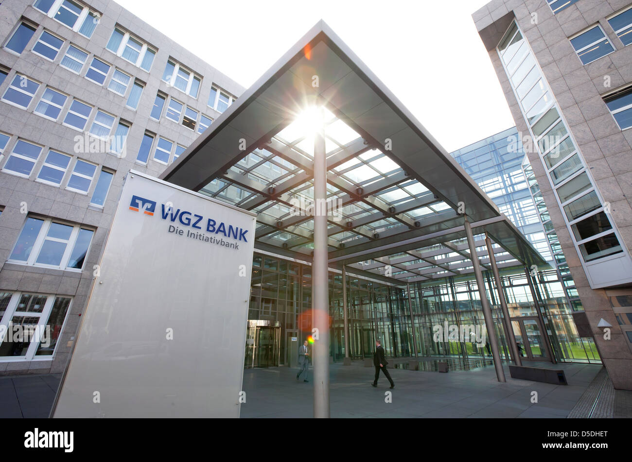 Duesseldorf, Germany, headquarters of the WGZ Bank - Stock Image