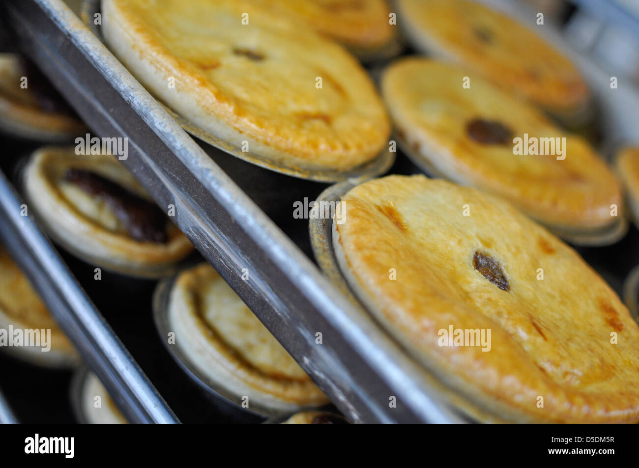 Lots of pies. - Stock Image