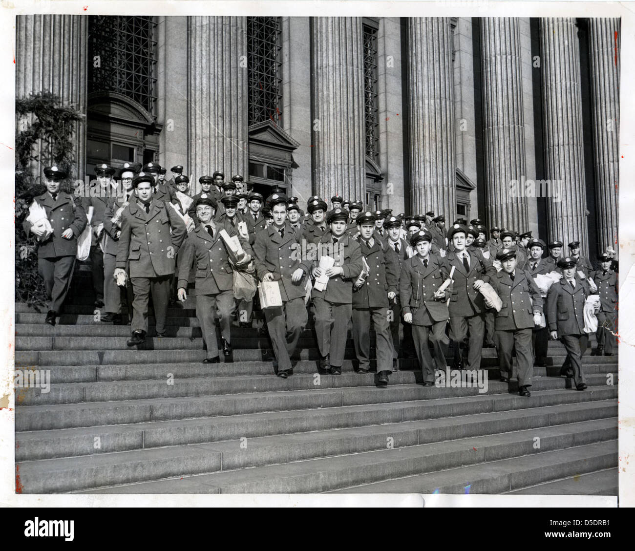 Letter Carriers in New York City - Stock Image