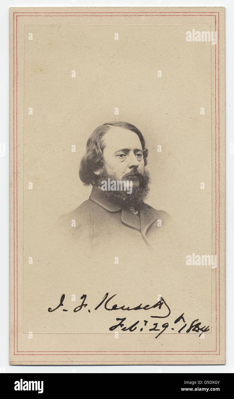 John Frederick Kensett Stock Photo