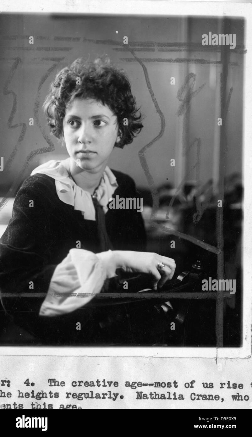 Nathalia Clara Ruth Crane (1913-1998) - Stock Image