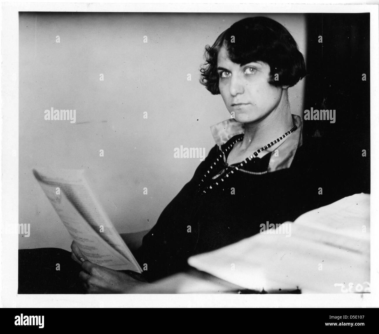 Emma Reh (1896-1982) Stock Photo