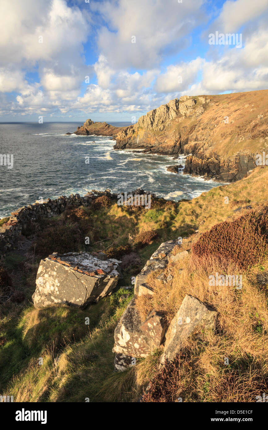 Gurnard's Head on the north coast of Penwith in Cornwall - Stock Image