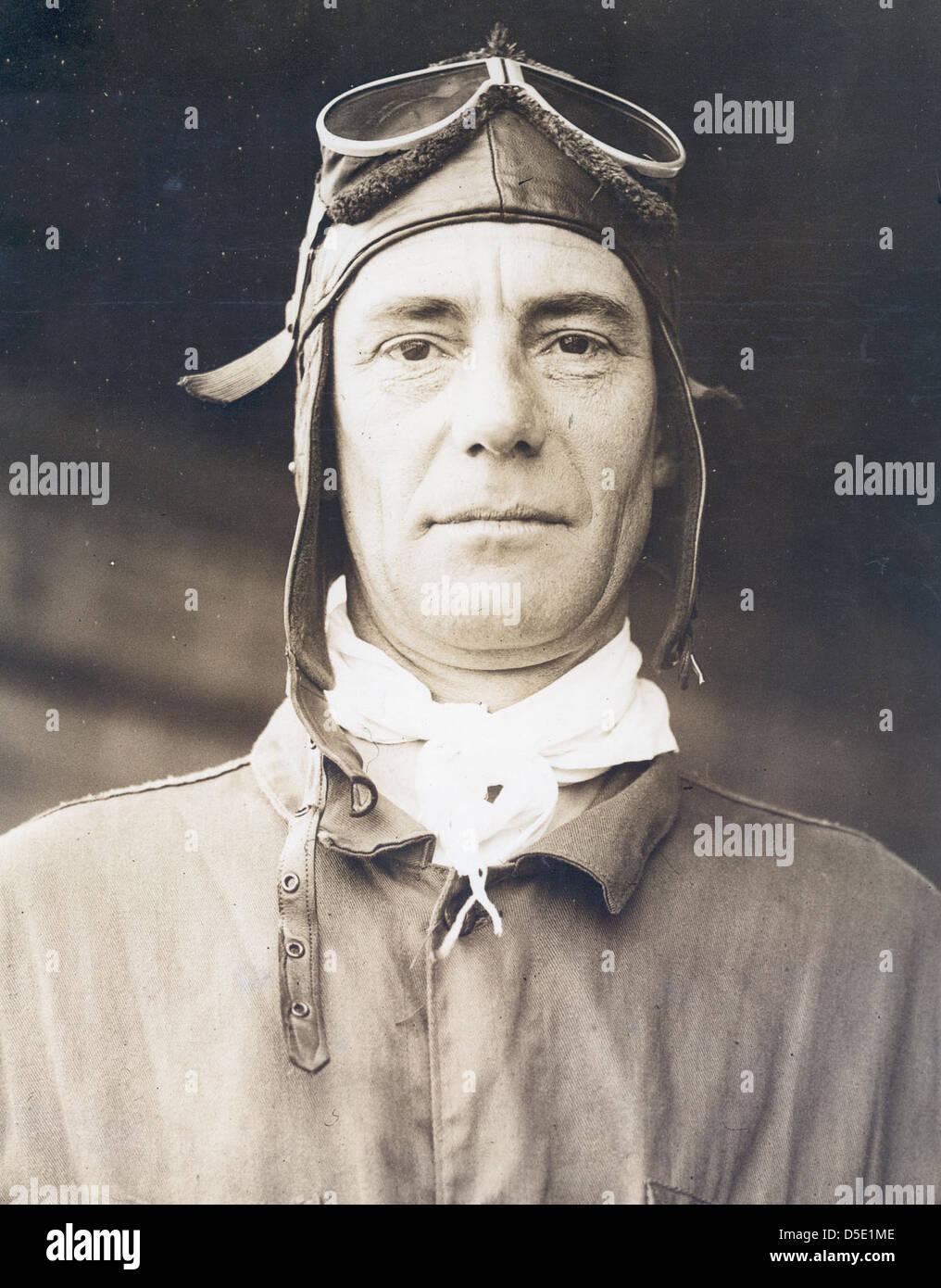 Photograph of airmail pilot James DeWitt Hill - Stock Image