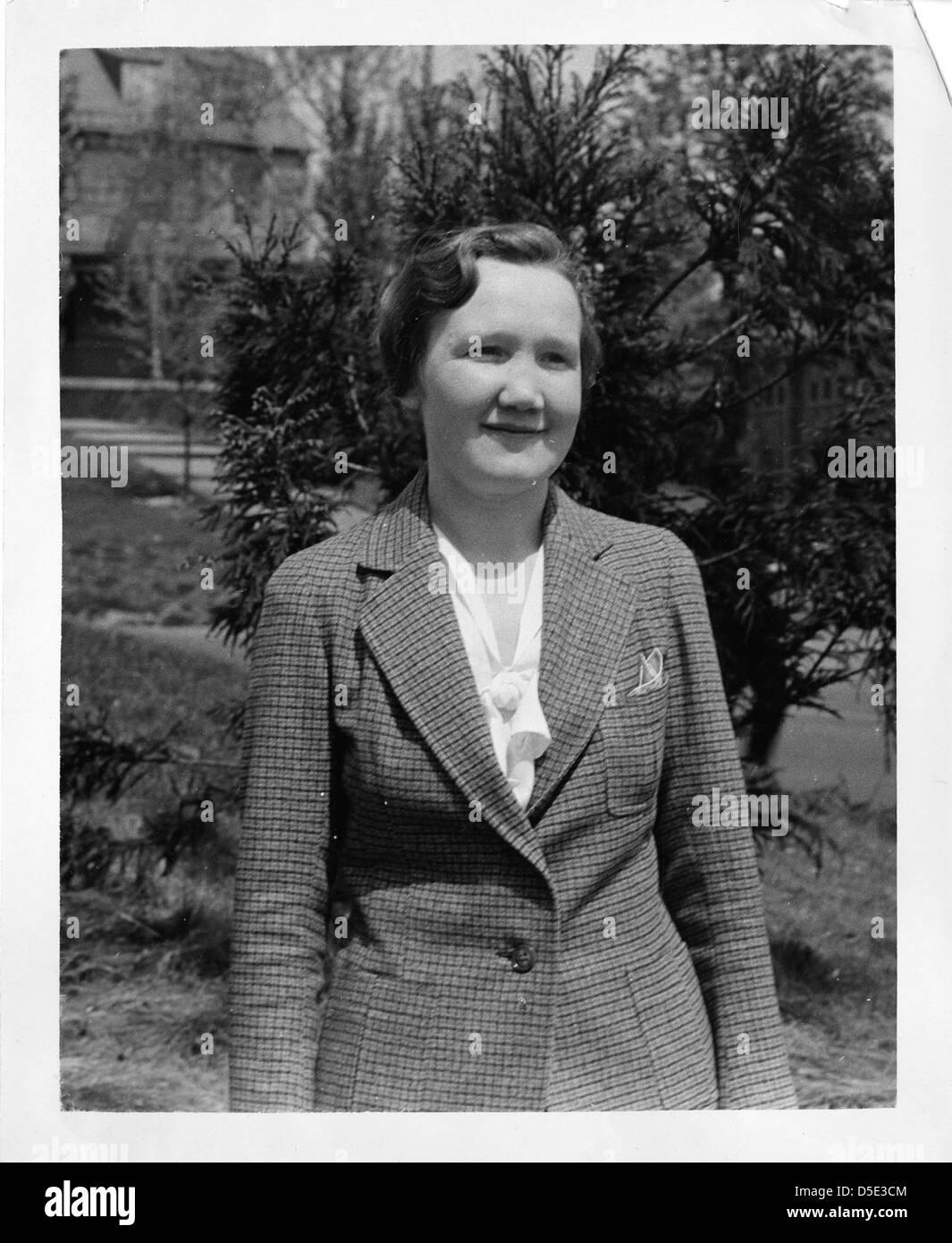 Regina Flannery Herzfeld (1904-2004) - Stock Image
