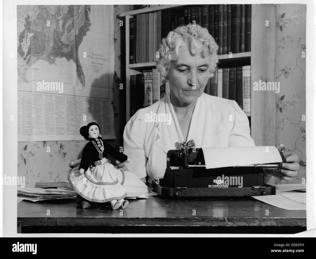 Ruth Murray Underhill (1883-1984) Stock Photo