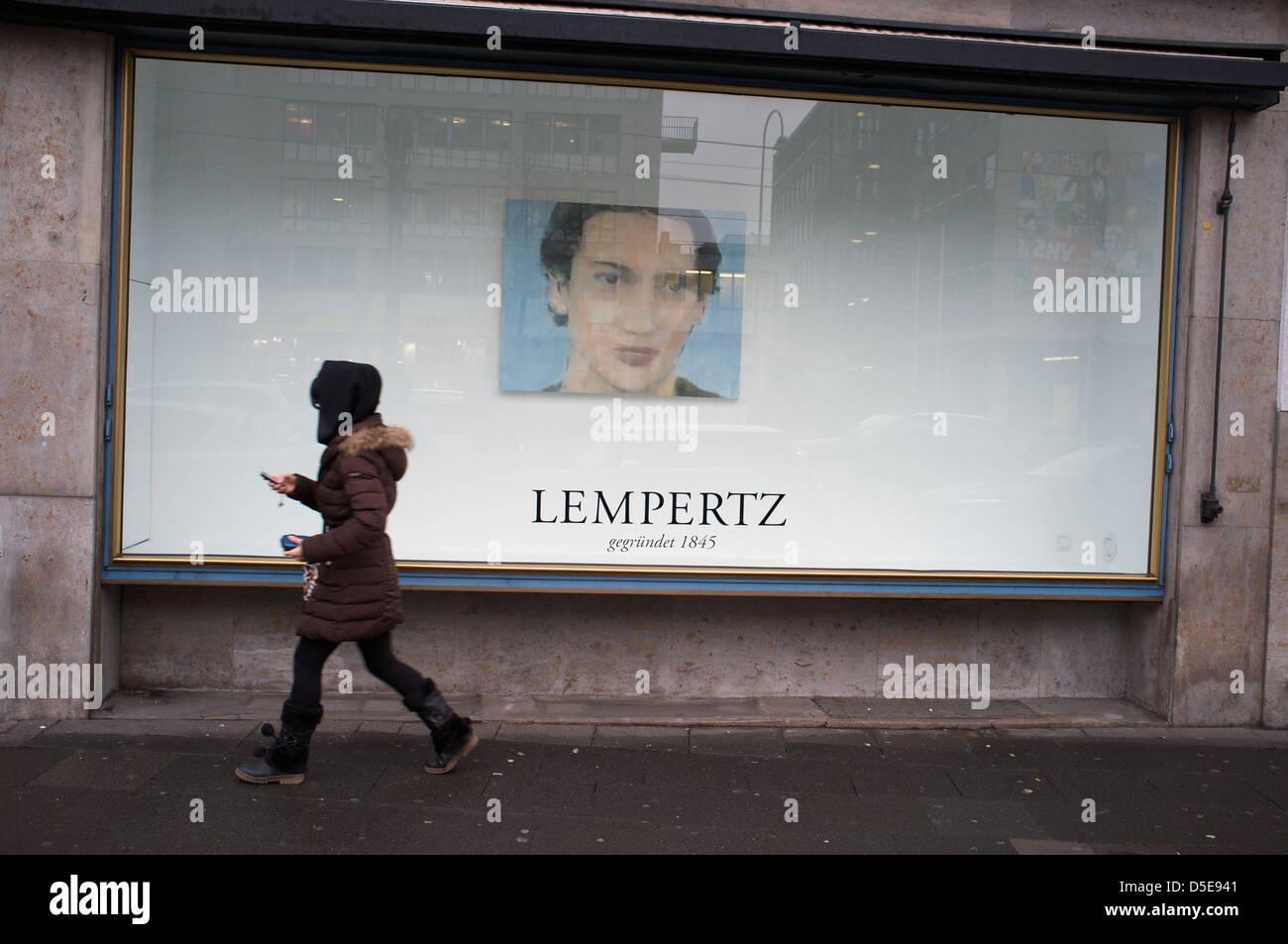 Lempertz gallery Cologne - Stock Image