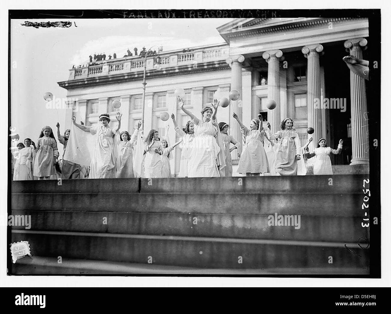 Tableaux, Treasury Wash., D.C. (Suff. Pageant) (LOC) - Stock Image