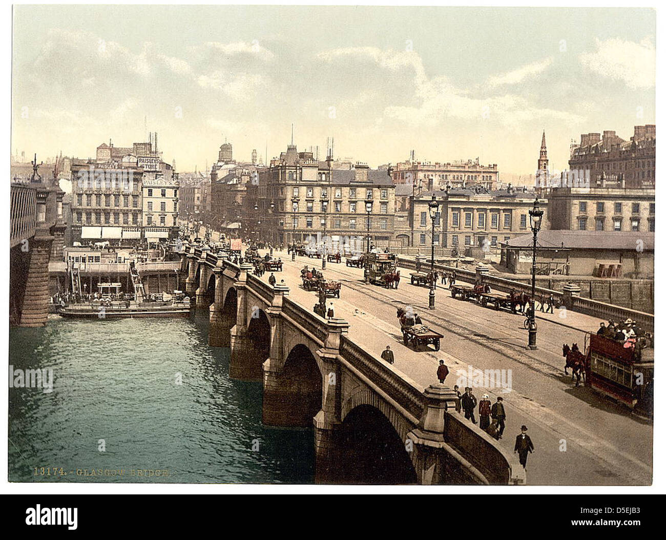 Glasgow Bridge, [Glasgow, Scotland] (LOC) - Stock Image