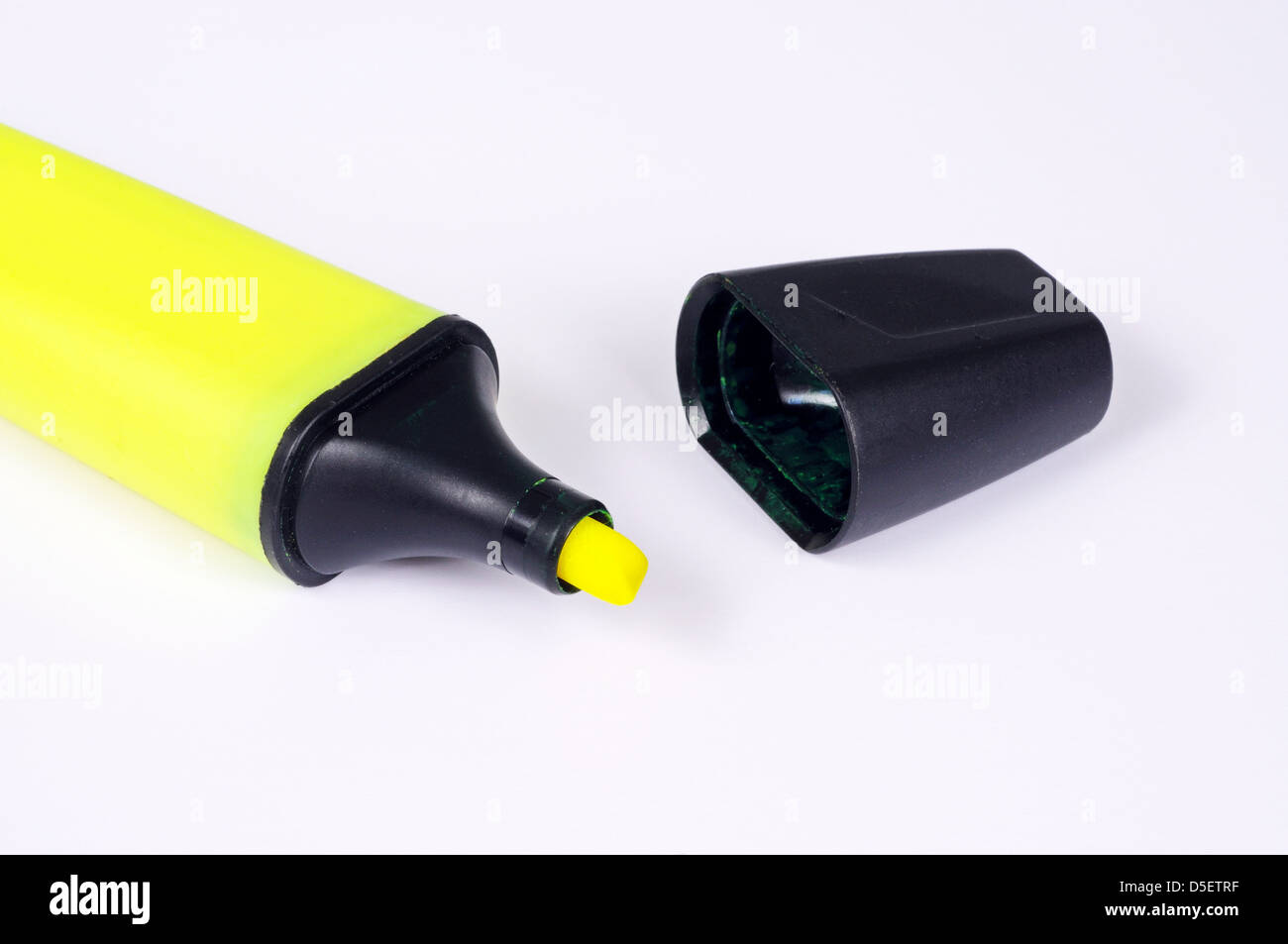 Yellow Highlighter Pen Stock Photos Yellow Highlighter Pen