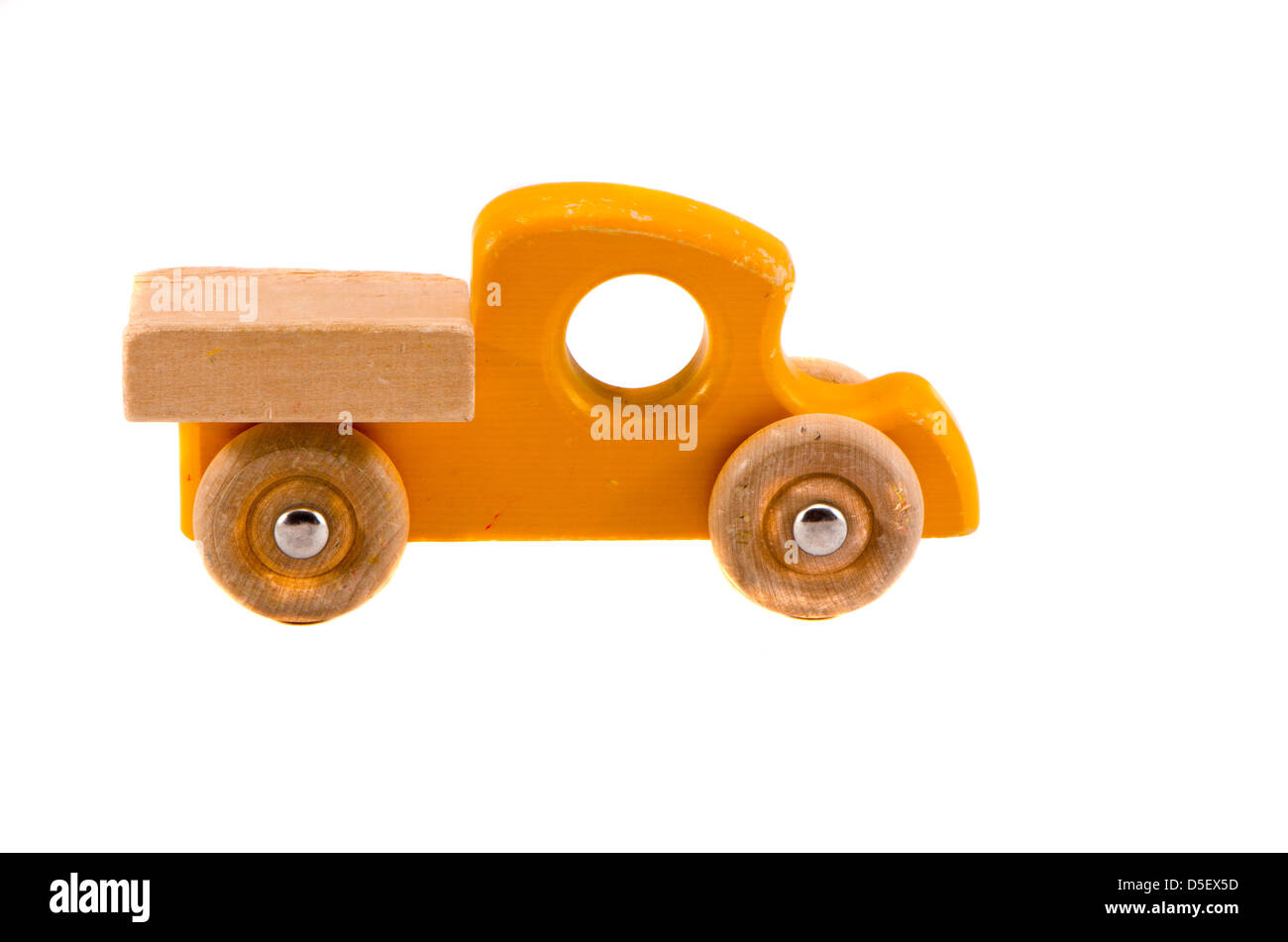 Vintage Wooden Toy Truck Homemade Stock Photos Vintage Wooden Toy