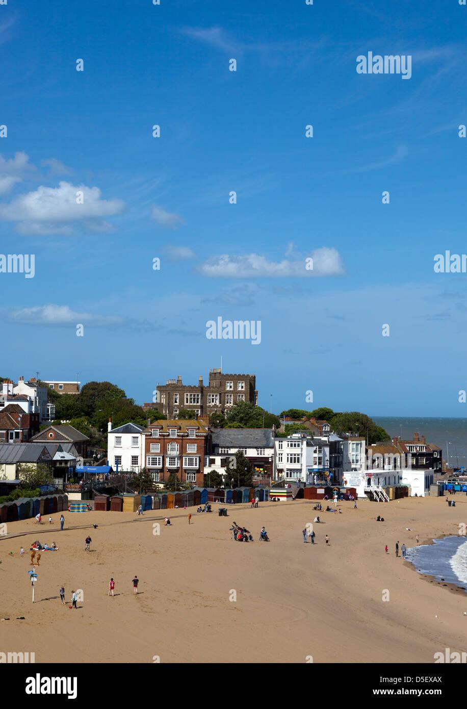 Broadstairs Beach - Stock Image