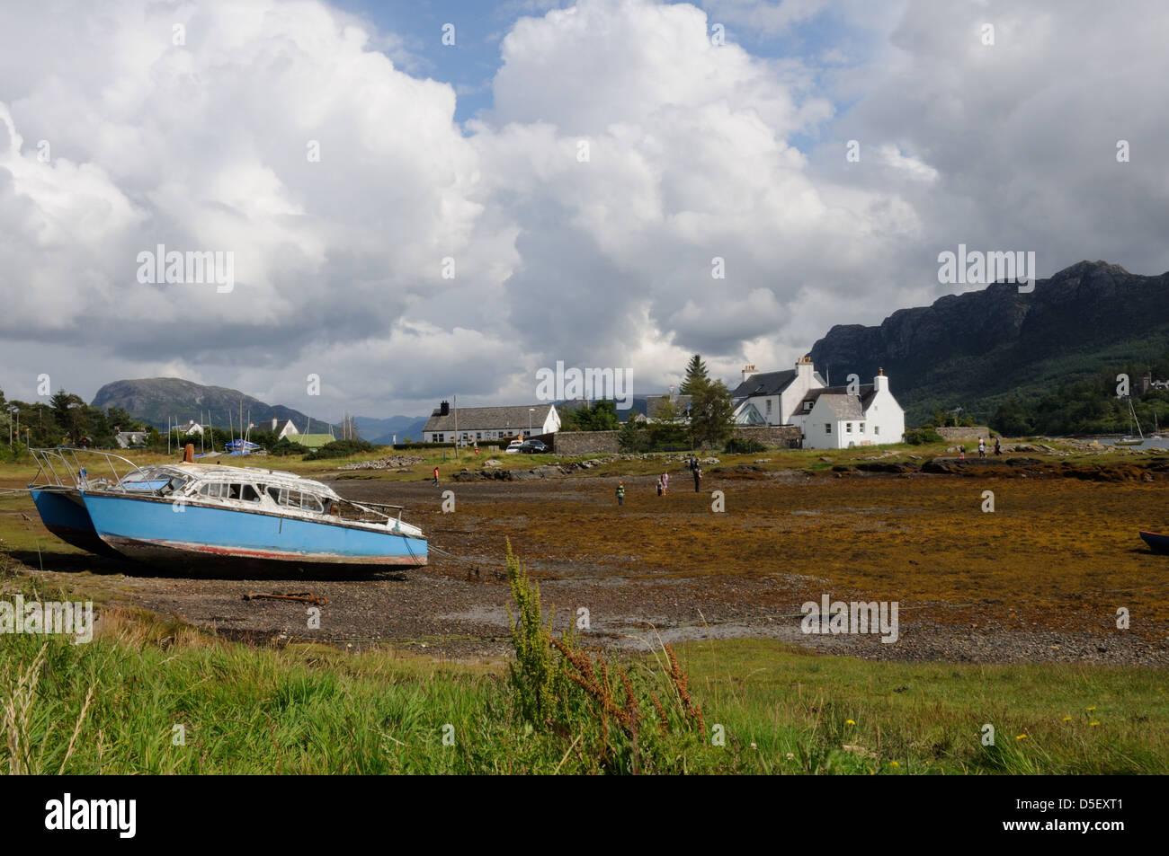 Plockton Bay, Ross and Cromarty, Scotland Stock Photo