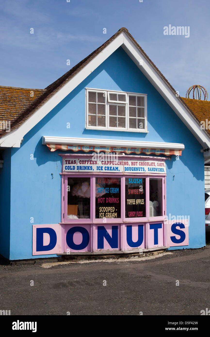 Donut Shop Hastings - Stock Image