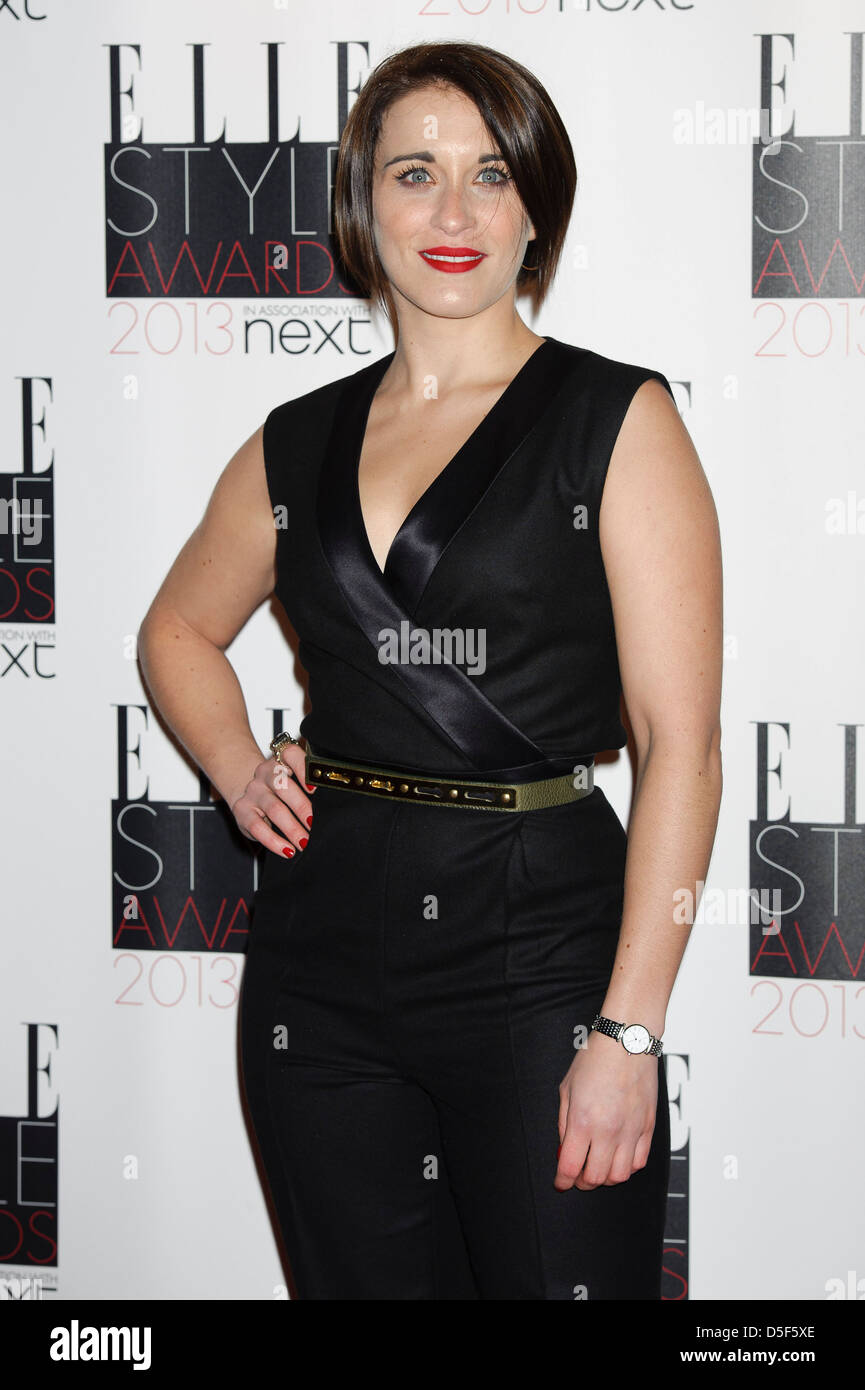 Vicky McClure arrives for the Elle Style Awards. - Stock Image