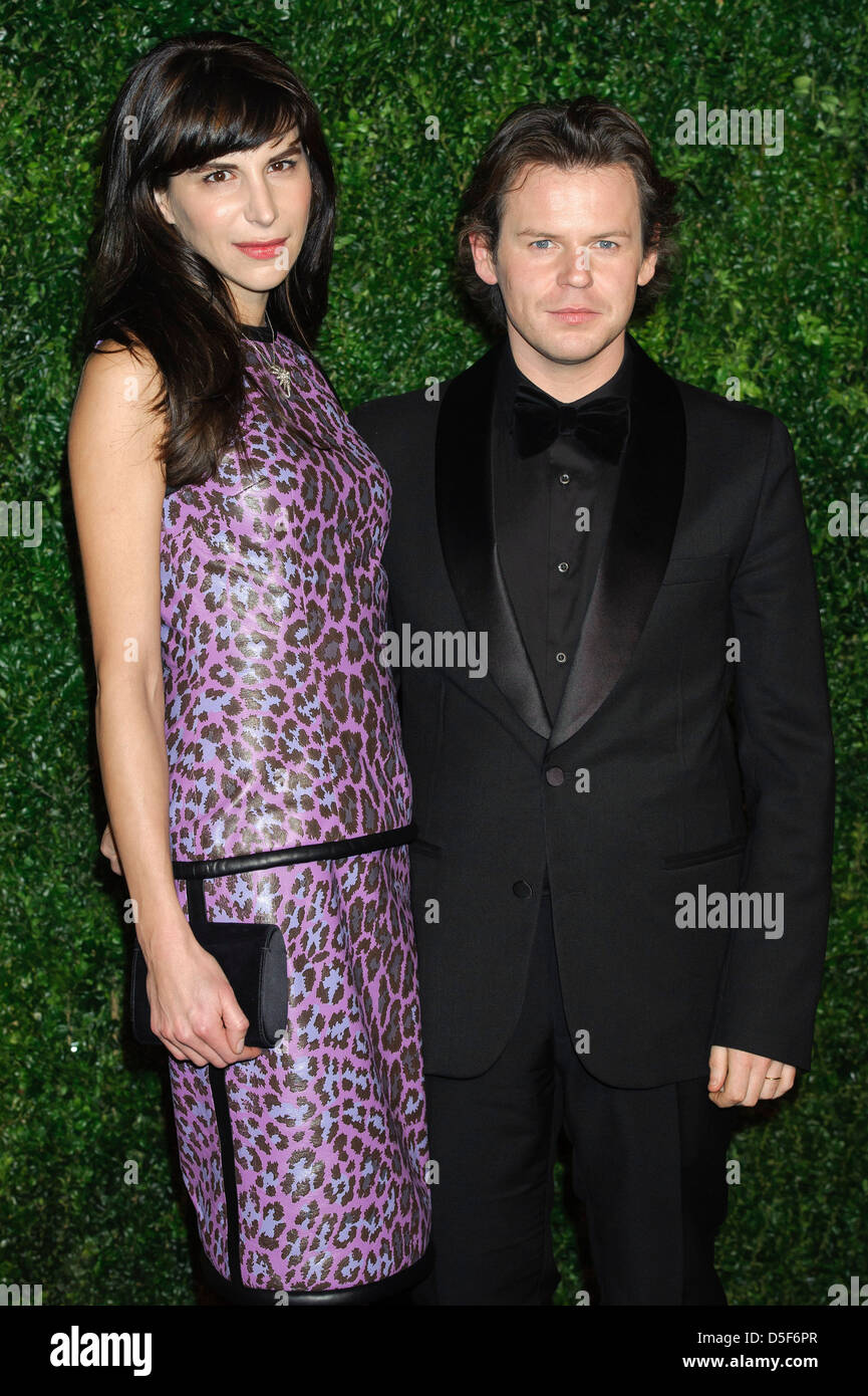 Caroline Sieber and Christopher Kane seen at the 58th London Evening Standard Theatre Awards. - Stock Image