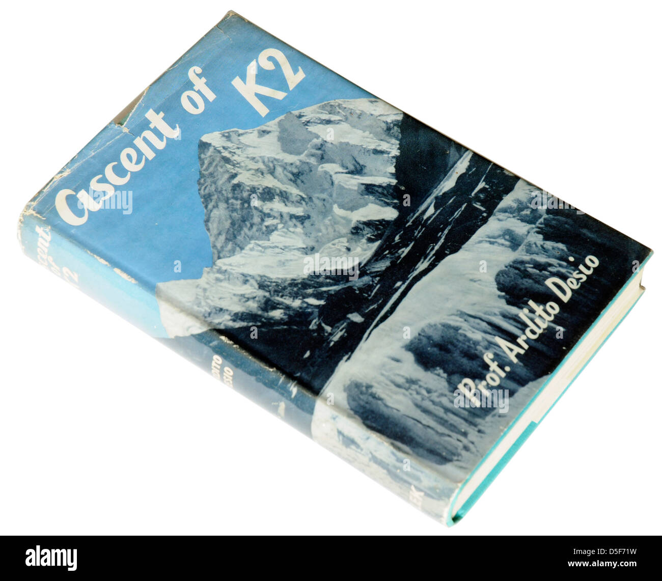 Ascent of K2 by Ardito Desio - Stock Image