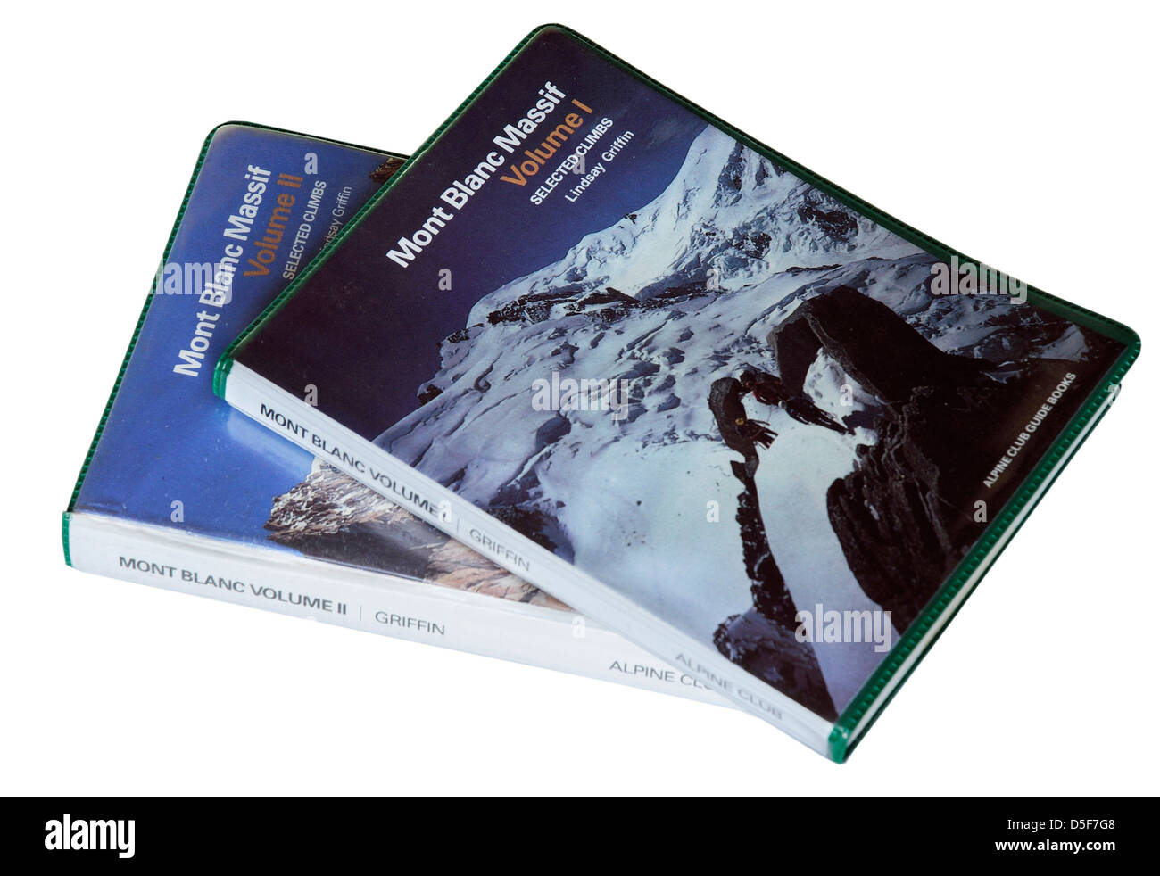 The Alpine Club Guidebook to mountaineering in the Mont Blanc Massif - Stock Image