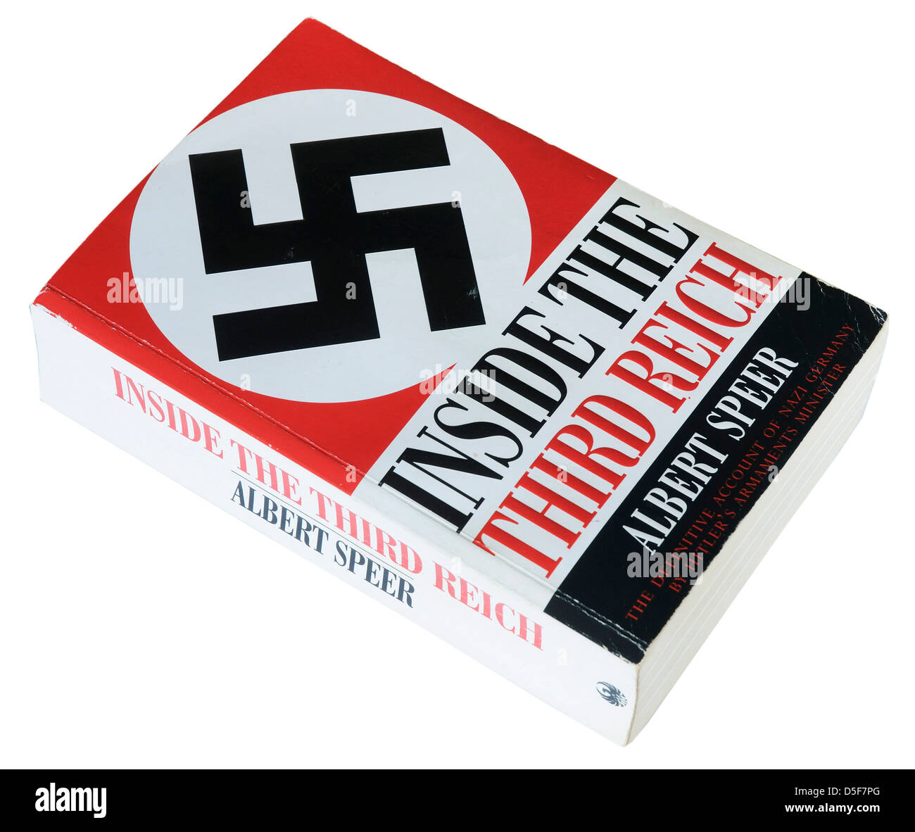 Inside the Third Reich by Albert Speer - Stock Image
