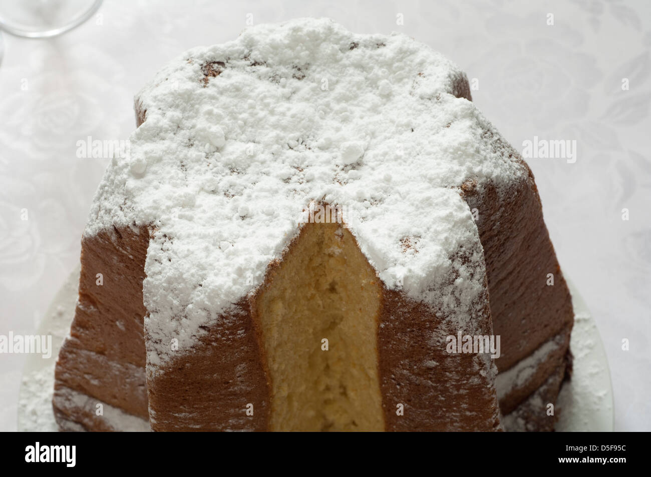 Italian Christmas Cake Pandoro Stock Photos & Italian Christmas Cake ...