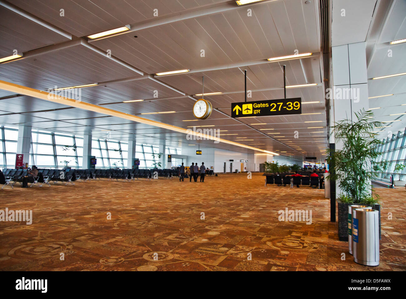 Interiors of Shimla Airport, Shimla, Himachal Pradesh, India - Stock Image