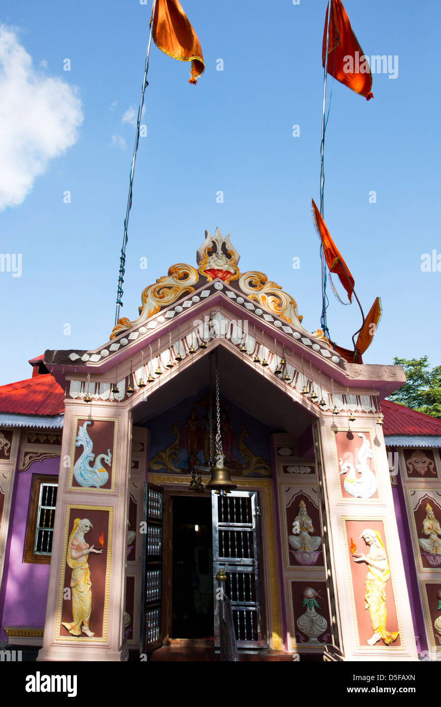 Jakhoo Temple at Jakhoo Hill, Shimla, Himachal Pradesh, India - Stock Image